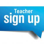 Teacher Sign up